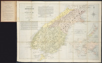 Johnstons' emigration map of the British colony of Otago &c. New Zealand [cartographic material] / constructed from the most recent surveys & explorations by W. & A.K. Johnston geographers, engravers & printers to the Queen.