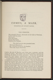 Comus, Lycidas, L'Allegro, Il penseroso, and selected sonnets / Milton ; with notes by Henry R. Huckin.