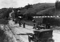Road construction between Wellsford and Te Hana
