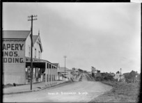 View looking along Hauraki Street, Birkenhead, Auckland