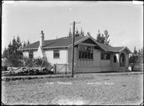 A club house at Waipukurau - Photograph taken by David Annand