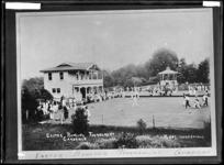 Easter Bowling Tournament at Cambridge, 1917 - Photograph taken by Edward John Wilkinson