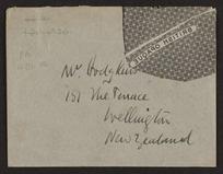 Frances Hodgkins - Outward letters