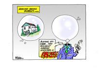 Auckland housing bubbles