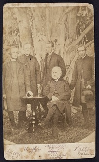 Photographer unknown :Group portrait of Bishops