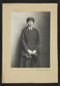Portrait of Agnes Isobel Pearce (later Stout)