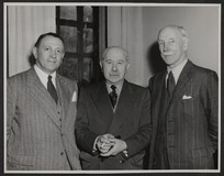 Professor B W Windeyer, Sir Stanford Cade, and Thomas Duncan Macgregor Stout