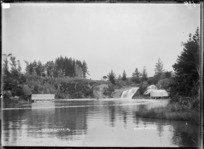 Okete Creek and Falls - Photograph taken by Gilmour Brothers