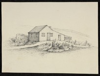 [Johnson, John] 1794-1848. Attributed works :Major Richmond's cottage, Auckland. [Between 1840 and 1843?]
