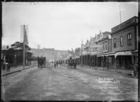 View of Victoria Avenue, Wanganui