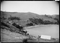 View of Pipitewai Bay in Awaawaroa Bay, Waiheke Island