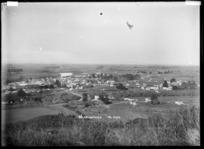Ngaruawahia, Part 2 of a 2 part panorama, circa 1910