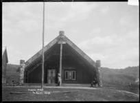 Front view of Te Tokanganui-A-Noho, Te Kuiti