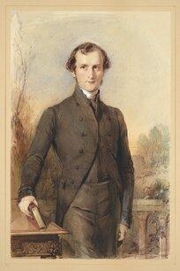 [Richmond, George], 1809-1896 :[George Augustus Selwyn. ca 1841]
