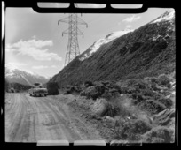 Canterbury Westland divide, Arthur's Pass, Selwyn District, Canterbury
