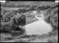 Junction of Okupata and Oparau Rivers, Kawhia