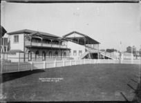 Grandstand at Hastings Racecourse