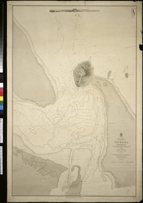 Tauranga Harbour [cartographic material] / surveyed by Comr. B. Drury 1852.