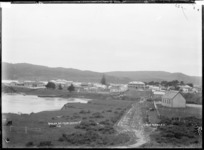 Raglan from Green Street, 1910 - Photograph taken by Gilmour Brothers
