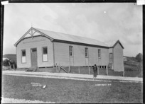 Raglan Town Hall, 1910 - Photograph taken by Gilmour Brothers