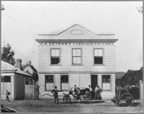 Leydon's carriage factory, Wanganui