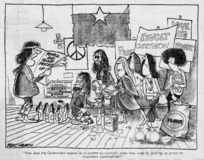 Heath, Eric Walmsley, 1923- :How does the government expect us to protest successfully when they keep on putting up prices on important commodities. Dominion, 9 June 1972.