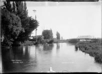 Bridge over the Ohau Channel at Mourea, Rotorua