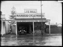 J E Hill, Manukau Cycle Works, Onehunga