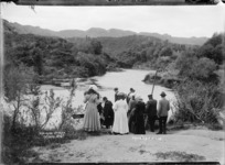 Hamurana Stream and freshwater springs near Rotorua