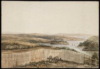 [Selwyn, George Augustus], 1809-1878 :Purewa Creek, Auckland Ch., Flying Fish and Marian, Okahu N. Village [ca 1845]