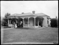 Ellis [family?], Christchurch
