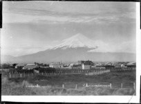 View of Mt Taranaki from Opunake - Photograph taken by David Duncan