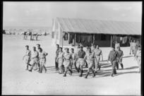 Repatriated New Zealand prisoners of war at Maadi Camp, Egypt - Photograph taken by George Robert Bull