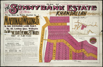 Plan of the Sunnybank Estate, Khandallah [cartographic material] / W. Loudon, surveyor.