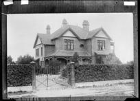 The Roman Catholic presbytery, Ashburton - Photograph taken by A.W.H.