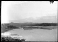 Opotoru River, Raglan Harbour, 1910 - Photograph taken by Gilmour Brothers