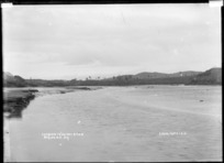 Raglan Harbour, entrance to Wainui Stream, 1910 - Photograph taken by Gilmour Brothers
