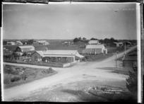 Pungarehu township, Taranaki - Photograph taken by David Duncan