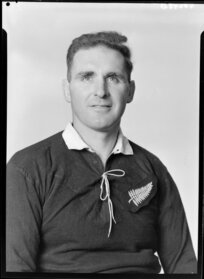 George Dalzell, member of 1953-1954 All Black touring team