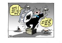 Steven Joyce banging a broken $11.7 billion fiscal hole drum by criticising Labour's Budget projections