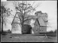 Church of England at Ngaruawahia, 1910 - Photograph taken by G & C Ltd