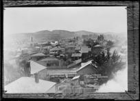 Waipukurau township, looking towards Mount Vernon