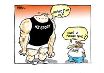 """NZ Sport. """"Doping? Not us!"""" """"That's a Russian thing!"""""""