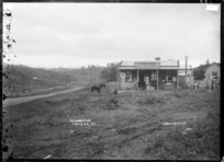 Te Mata General Store - Photograph taken by Gilmour Brothers