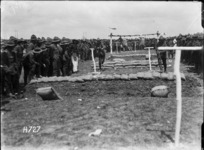 Bayonet fighting competition, Authie, France