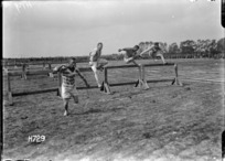 Hurdles race, Authie, France