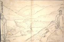 Collinson, Thomas Bernard 1822-1902 :Patearero from Pukehika. Wanganui River. 1848.