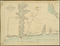 Sketch shewing attack on Māori position, Katikara River, 4th June 1863 [cartographic material].