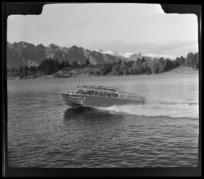 Meteor [water taxi?], Queenstown, Queenstown-Lakes District, Otago Region