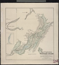 [New Zealand. Department of Lands and Survey] : Map of Explorations Western Otago [map]. 1896